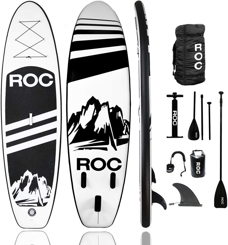 ROC Inflatable Paddle Board - Best all around paddle board