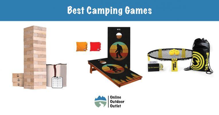 Best outdoor camping games 2021 Blog Header