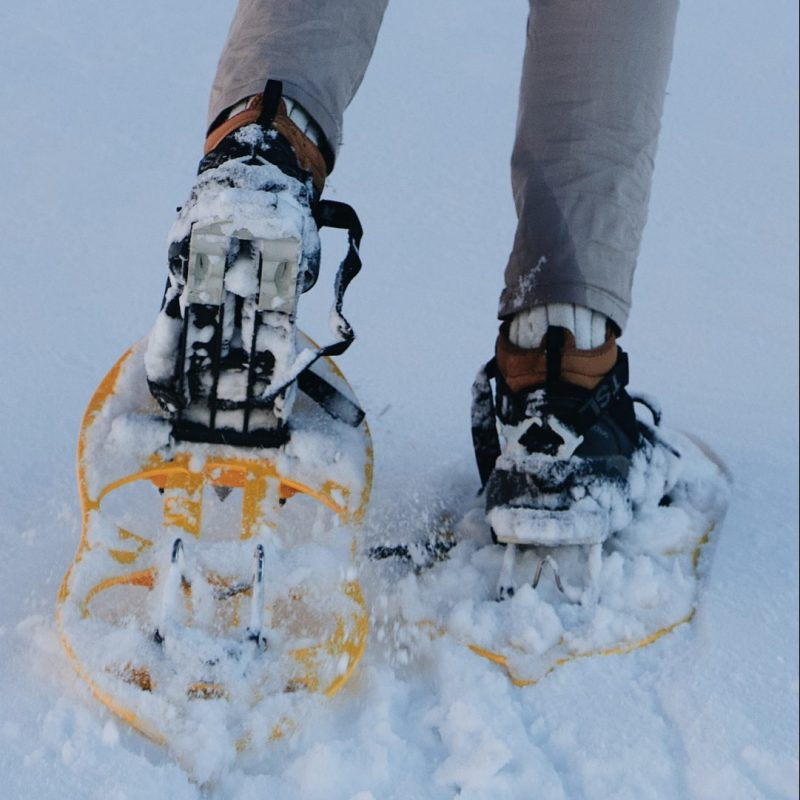 Snowshoeing in Fresh Snow Best Snowshoe Sizing